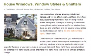 Window Replacement: Go For A Few Wood Window Styles