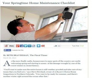 Springtime Roof Inspections: The Basics