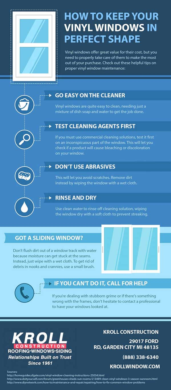 How to Keep Your Vinyl Windows in Perfect Condition
