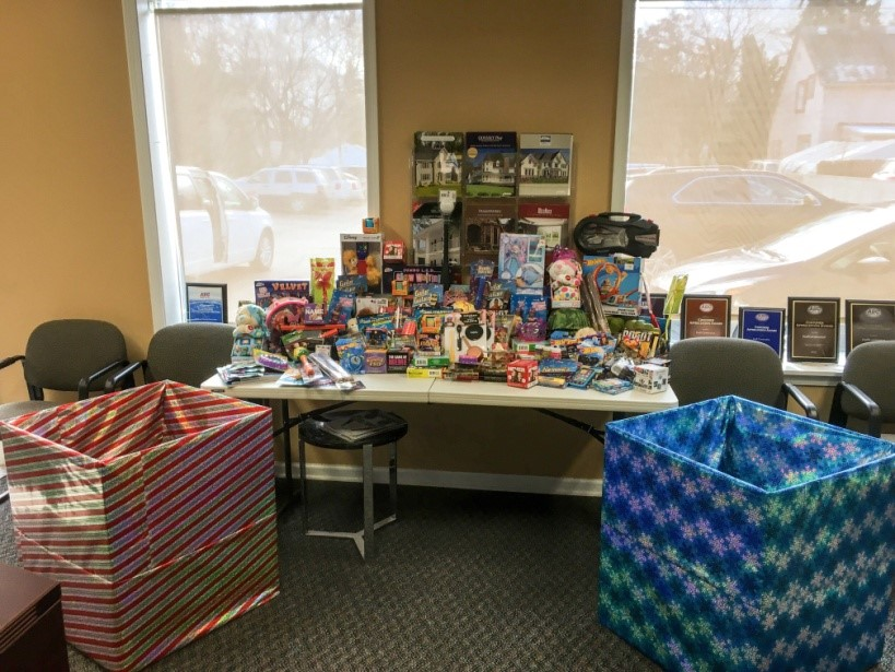 Toy Drive for The Children's Center - November 2018